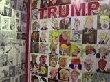 Trump se vuelve caricatura en la Ciudad de México
