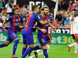 Valencia 2-3 Barcelona (Liga española)
