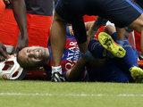 La grave lesión que sufrió Iniesta contra el Valencia