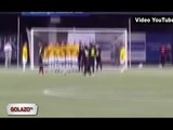 Rambo se luce con Golazo en juego ante Ronaldinho