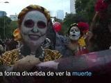 Catrinas toman las calles de México anticipando Día de Muertos