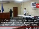 Continua juicio contra Kevin Solorzano