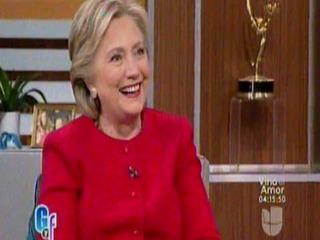 Hillary aprende español y baila en El Gordo y La Flaca