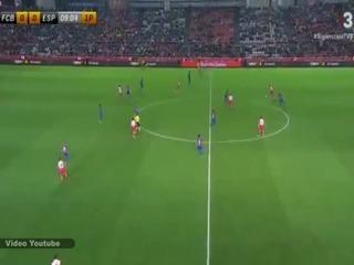 Barcelona 0-1 Espanyol (Supercopa de Cataluña)