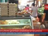 Garantizan estabilidad de precios de los huevos y el pollo