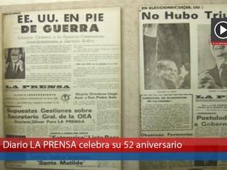Diario LA PRENSA celebra su 52 aniversario