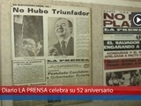 LA PRENSA celebra su 52 aniversario