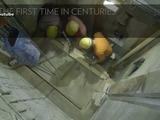 Retiran la capa de mármol de la tumba de Jesús por primera vez