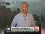 Fernando Ramos corresponal de CNN en Colombia no se puede contener en televisión