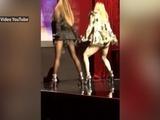 Madonna baila con Ariana Grande