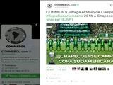Chapecoense es nombrado campeón de la Copa Sudamericana 2016 por Conmebol