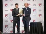 David Villa elegido mejor jugador de la temporada 2016 en la MLS