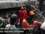 Casi 100 muertos en Indonesia tras potente sismo
