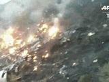 Avión se estrella en Pakistán sin sobrevivientes