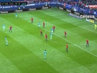 Osasuna 0 - 3 Barcelona (Liga de España)