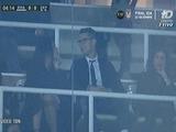 Cristiano Ronaldo aparece con su novia en el Santiago Bernabéu