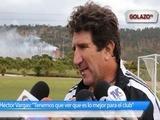 Héctor Vargas habla de las próximas contrataciones del Olimpia