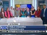 Pablo Chavarria y su desconsoladora llamada a HCH