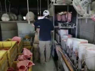 Una factoría japonesa fabrica máscaras inspiradas en Trump