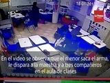 México Niño atenta contra la vida de la maestra y sus compañeros