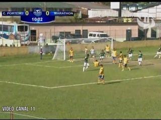 Marathón 8 - 0 Cerro Porteño (Copa Presidente)