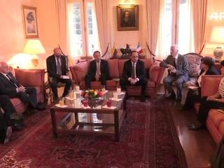 Hollande visita zonas de desarme FARC y a víctimas del conflicto
