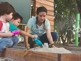 Aprende a elaborar un volcán de arena con tus hijos