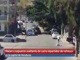 En tiroteo mueren supuesto asaltante y jefe de seguridad