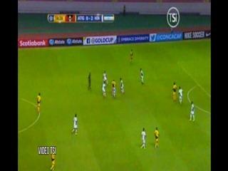 Gol de Antigua y Barbuda a Honduras (CONCACAF)
