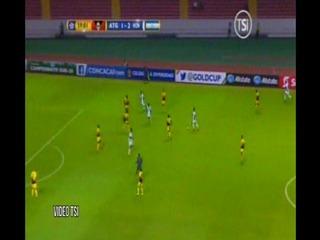 Tercer gol de Honduras al Antigua y Barbuda (CONCACAF)