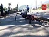 Hallan dos muertos en carretera a Puerto Cortés
