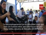 LA PRENSA sigue regalando sonrisas a escolares