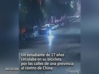 El sorprendente giro que tuvo un accidente en China