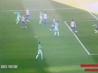 El polémico gol anulado al Barcelona ante Atlético