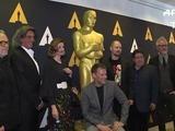 Nominados por mejor maquillaje, emocionados rumbo al Óscar