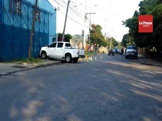Acribillan a dos hombres en sector El Palenque de San Pedro Sula