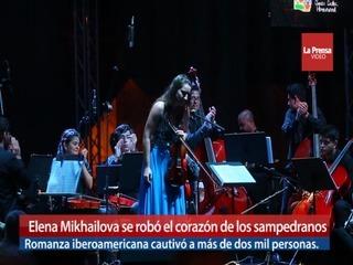 Elena Mikhailova se robó el corazón de los sampedranos
