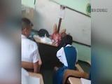 Polémica en Panamá por un vídeo de una profesora enseñando en clase a parir