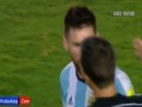 El grave insulto de Messi a árbitro brasileño