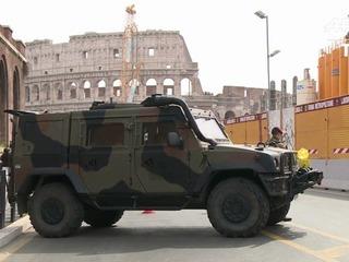Roma blindada por el 60 aniversario de la UE