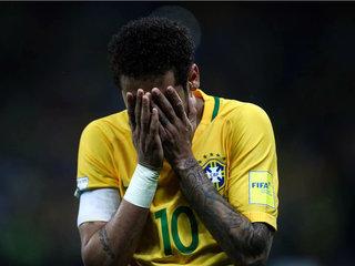El penal que falló Neymar con Brasil ante Paraguay
