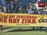 Campaña contra el Zika se hace sentir en el Nacional de Tegucigalpa
