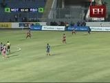 Eddie Hernández pone el angustioso empate para el Motagua