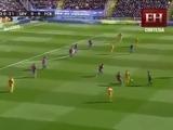 Barcelona le gana 2 - 0 al Levante como visitante (Liga Española)