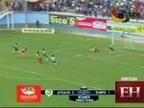 Medio tiempo del encuentro entre Juticalpa FC vs Olimpia