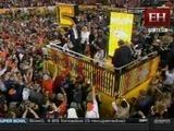 Así fue la ceremonia de premiación del Super Bowl 50