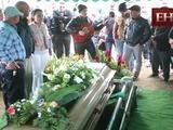 Familiares y amigos dan último adiós a Marlon Martínez