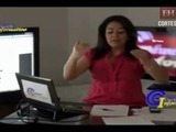 Karol Cabrera, una periodista polémica y controversial a la distancia