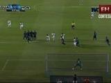 Honduras está cayendo 1-3 ante la selección de Guatemala
