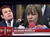 Nasralla responde acusaciones de diputada Marlene Alvarenga